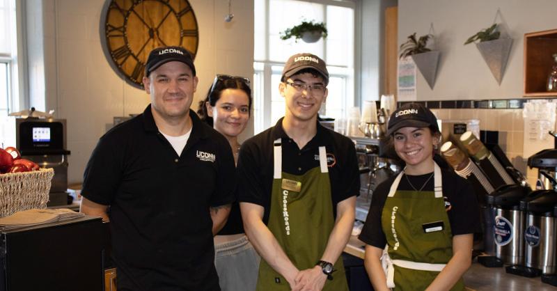 UConn dining staff