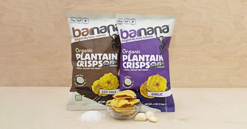 Barnana Snacks Organic Plantain Crisps