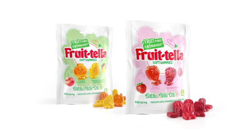 Perfetti Van Melle Fruit-Tella Soft Gummies
