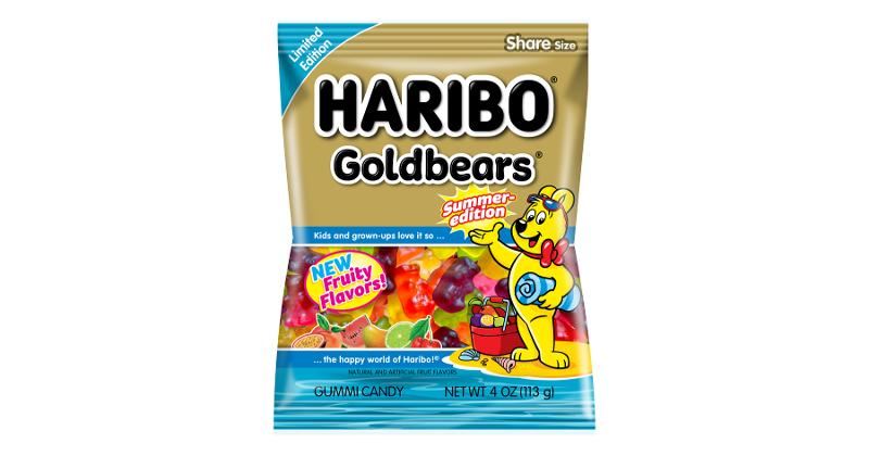 Haribo Summer Edition Goldbears