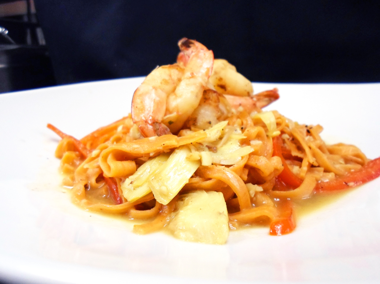 Thai-style pasta