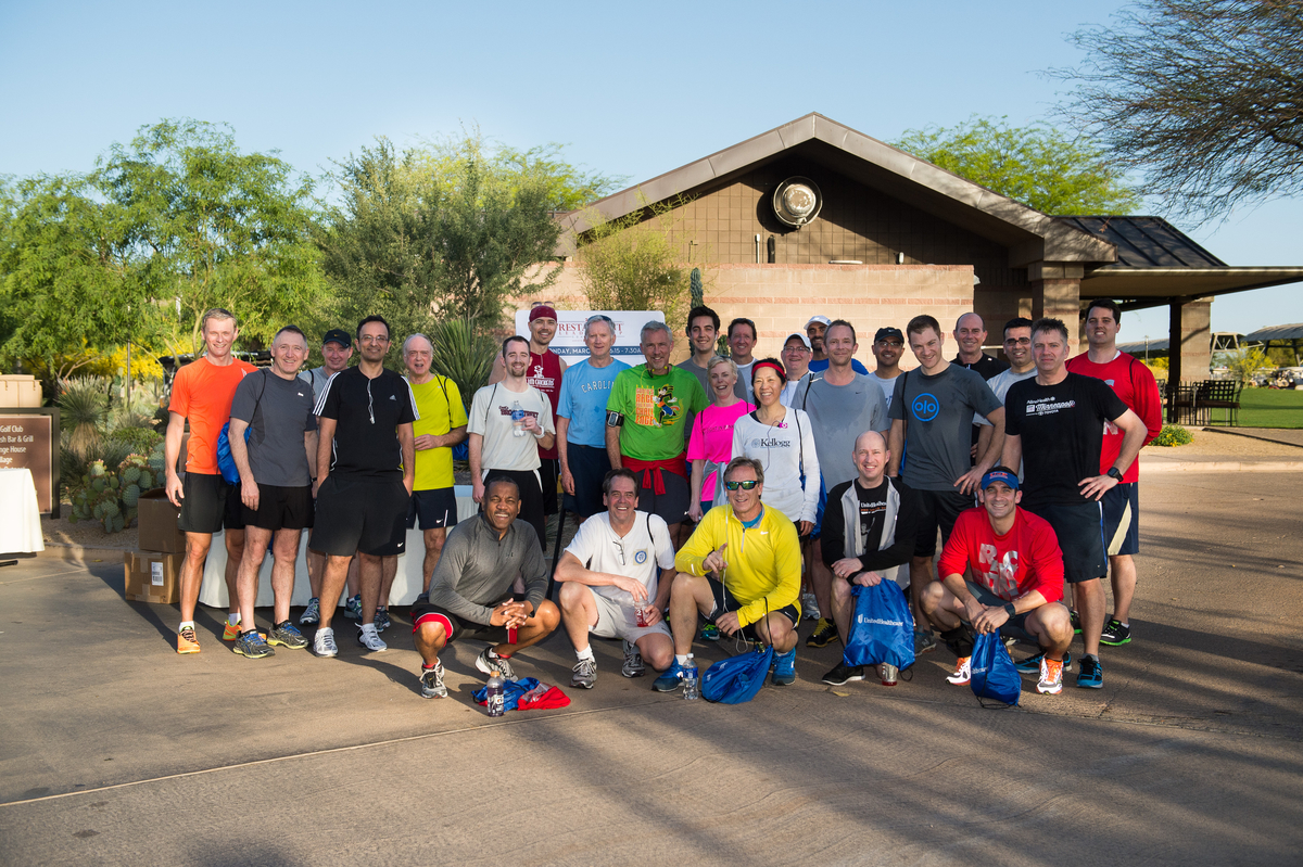 RLC 5k running group, Restaurant Leadership Conference