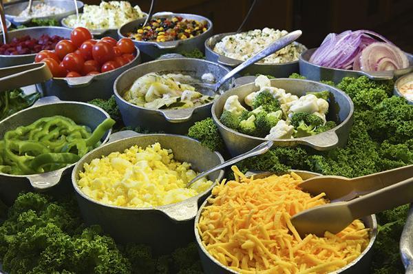 Making Salad Bars Cool Again