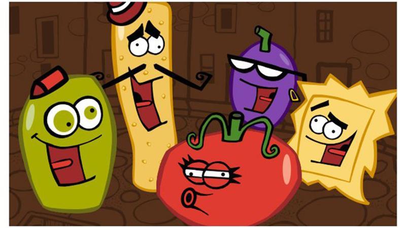 olive garden mascots