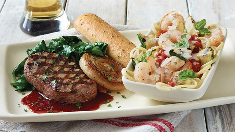 applebees take two sweet onion shrimp scampi