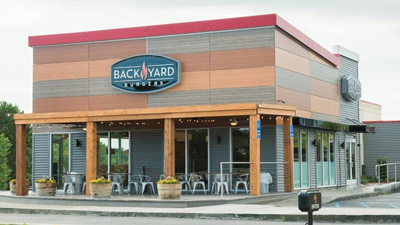 back yard burgers exterior