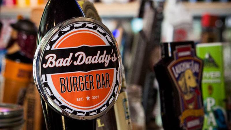bad daddys burger bar beer tap
