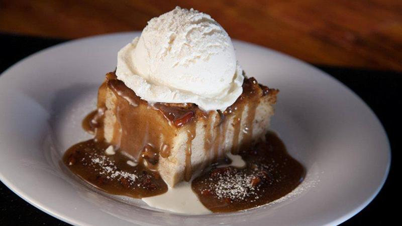 bennigan's bread pudding comfort dessert