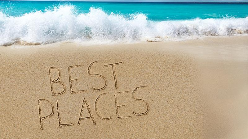 best places beach