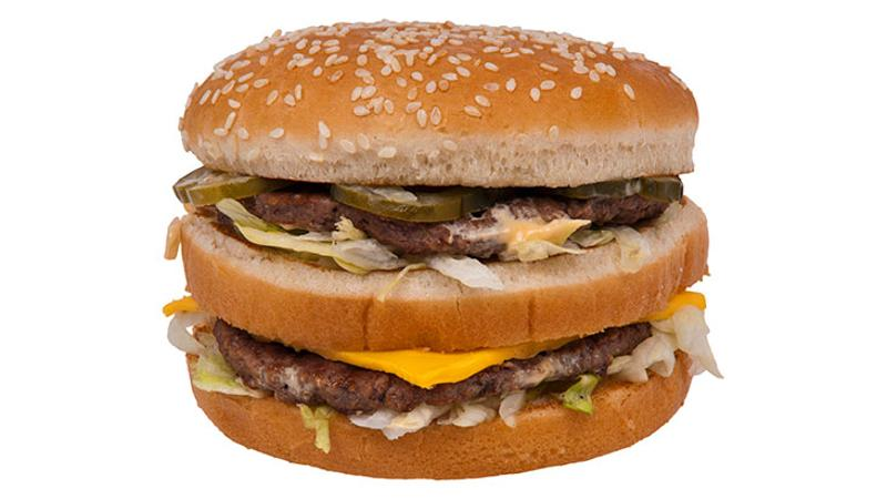 big mac mcdonalds hamburger