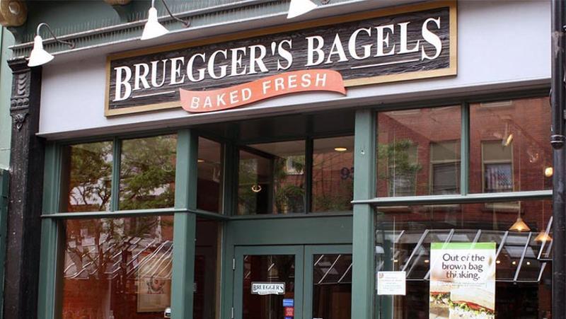 brueggers bagels exterior