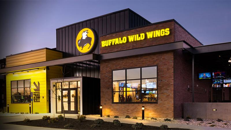 buffalo wild wings exterior new