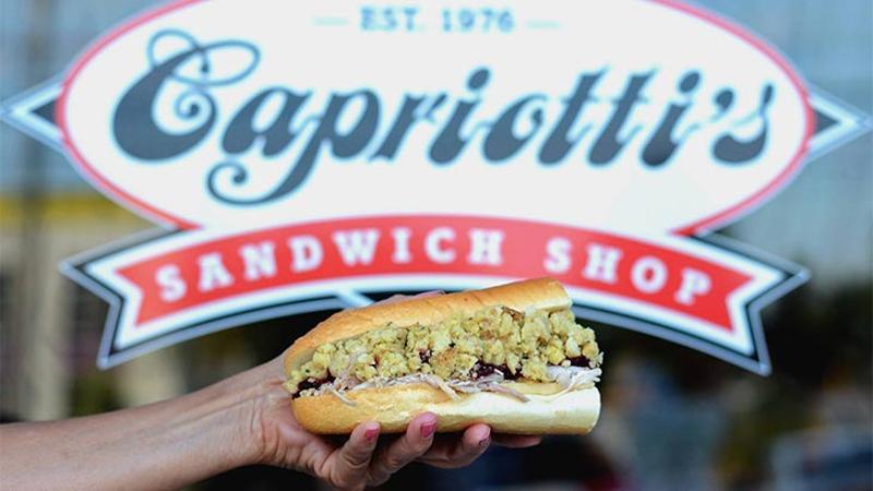 capriottis sandwich shop sign