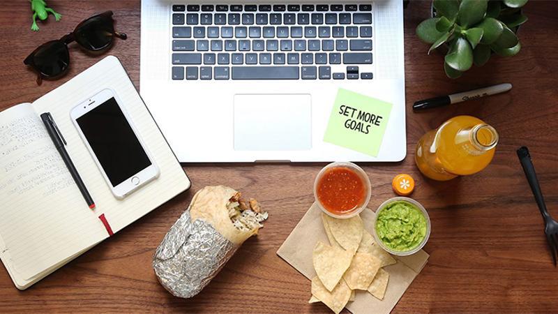 chipotle burrito computer