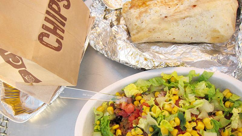 chipotle chips burrito bowl