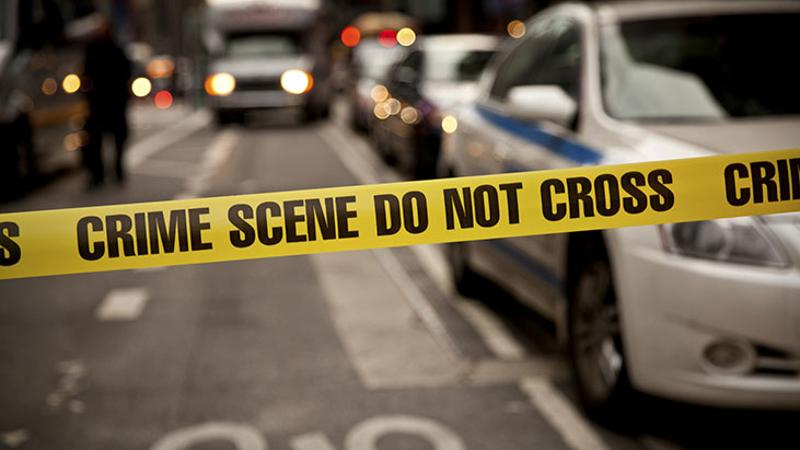 crime scene attack police