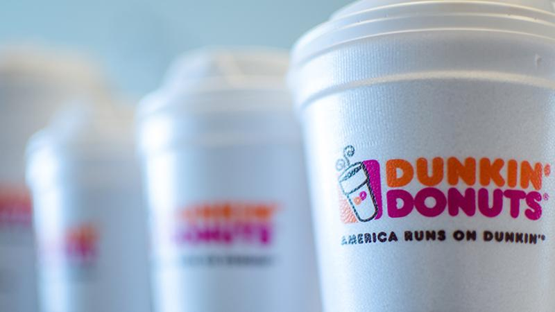 dunkin donuts coffee cups