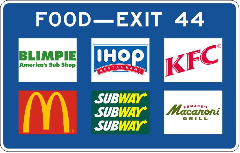 fast food signs