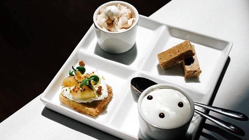 dessert sampler restaurant menu idea