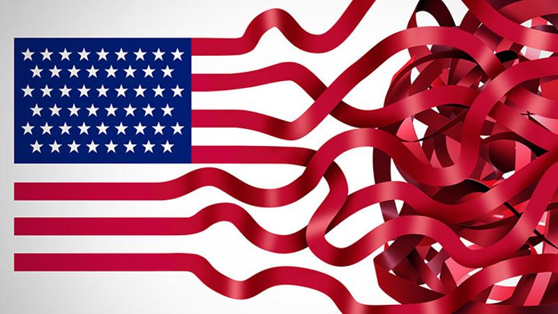 flag unraveling