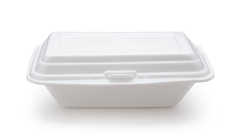 foam takeout container