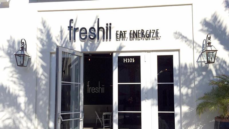 freshii exterior