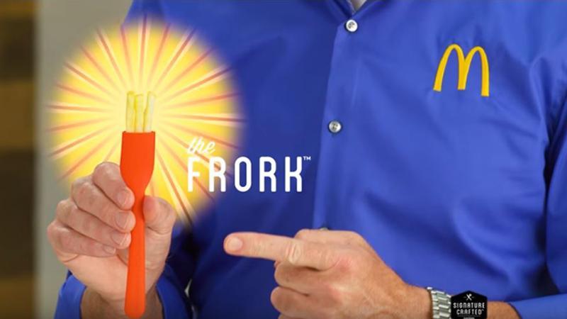 McDonald's frork