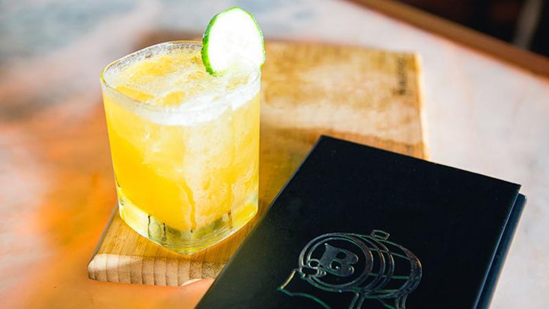 housemade gin tonic
