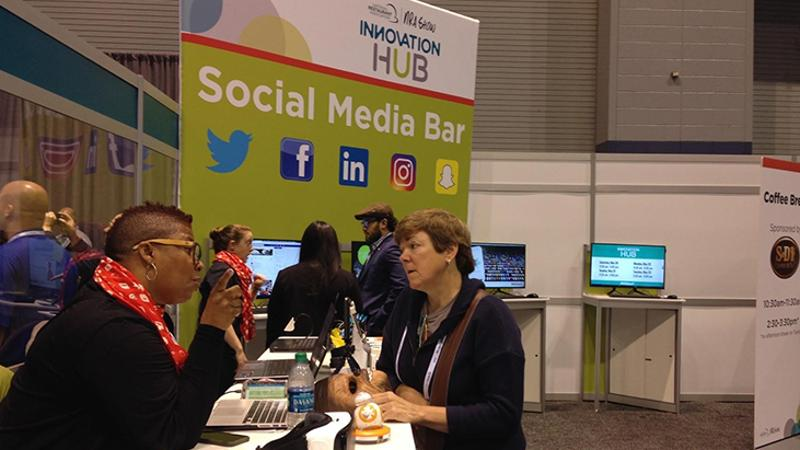 Innovation Hub social media bar