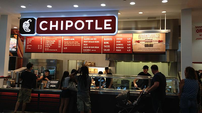 inside chipotle