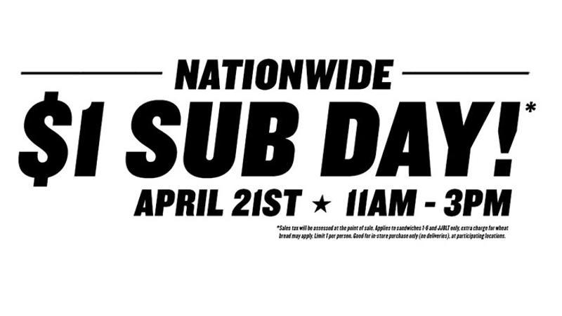jimmy john sub day