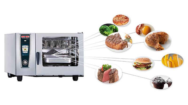 multitasking cooking centers
