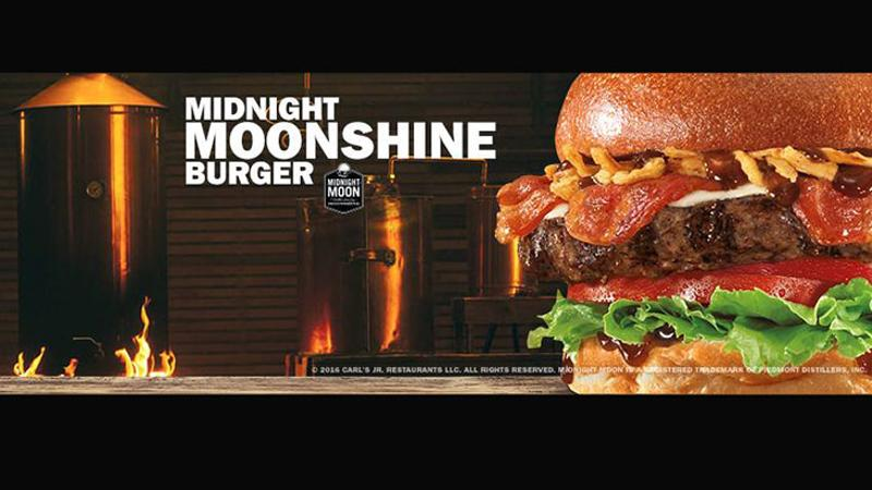 midnight moonshine burger carls jr