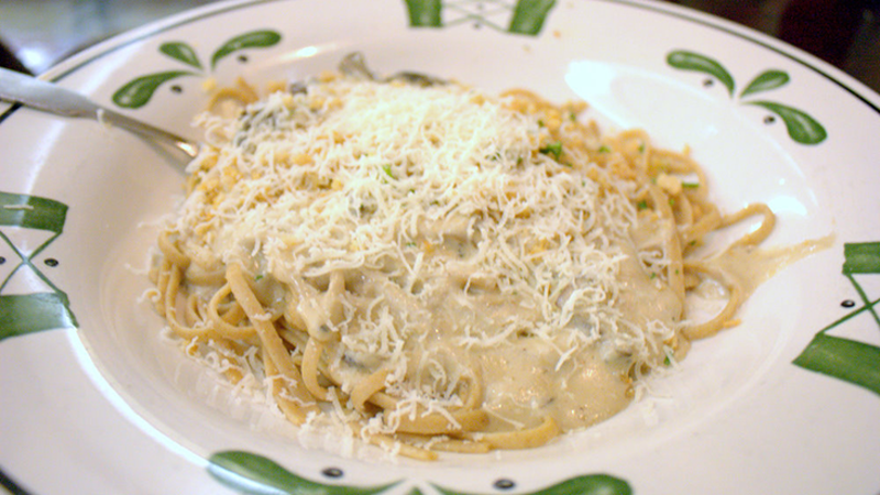 olive garden whole wheat linguine