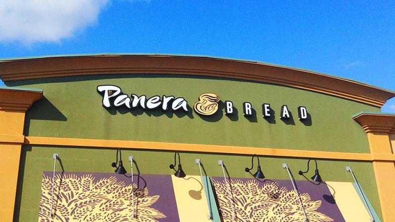 panera bread exterior