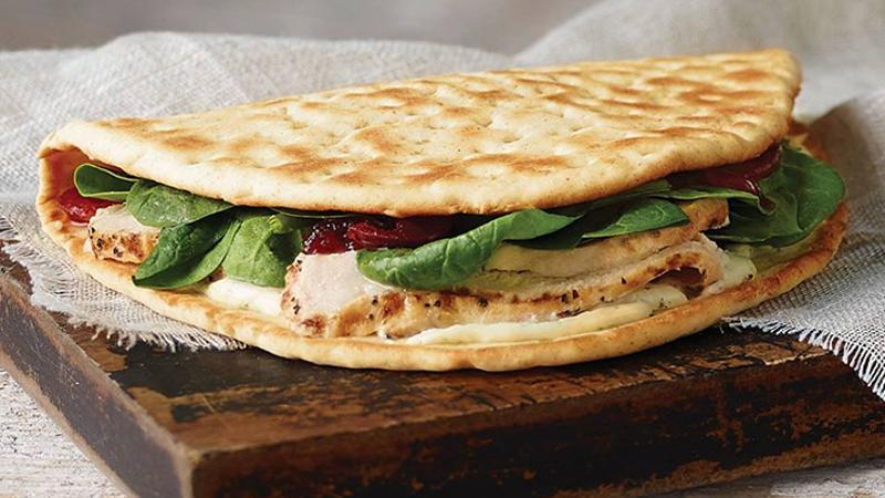 panera turkey cranberry flatbread
