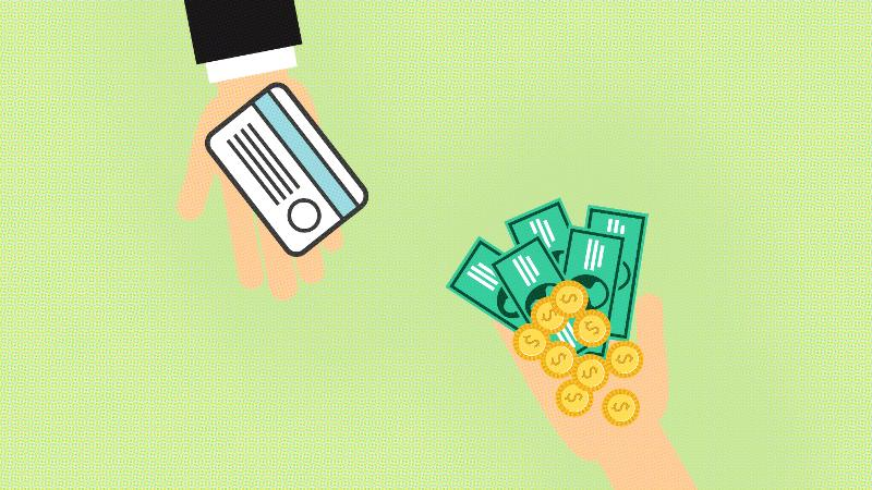 passing money