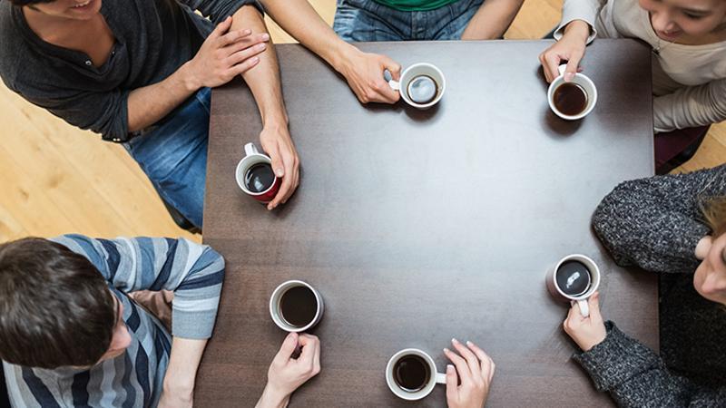 coffee drinkers large volume