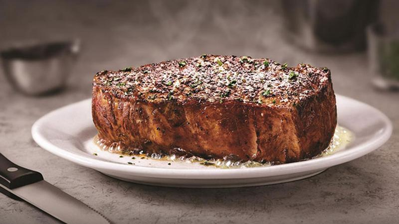 ruths chris steak plate