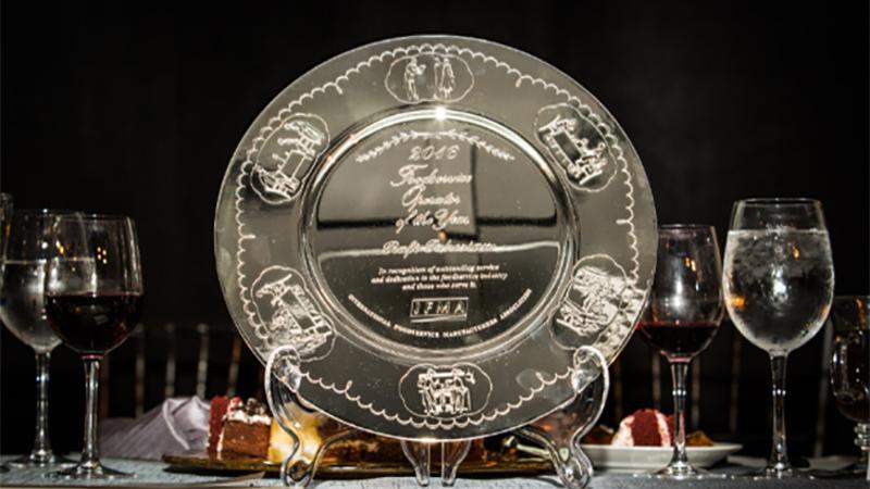 silver plate award