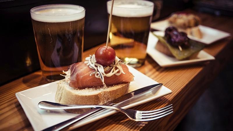 craft beer food pairing restaurant