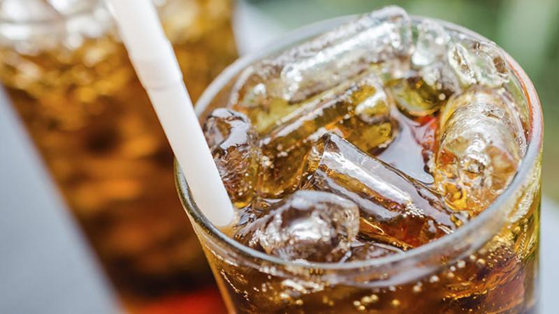 soda pop coke glass