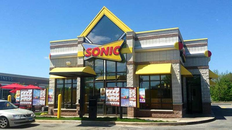 sonic exterior front