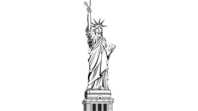 statue liberty dining
