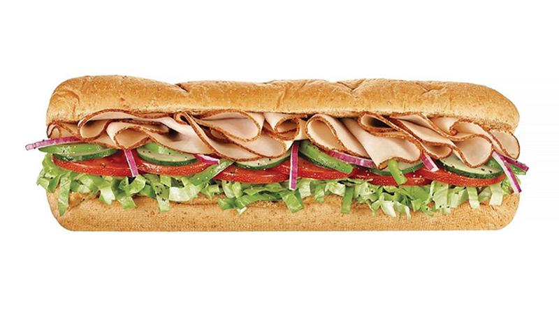 subway footlong sandwich