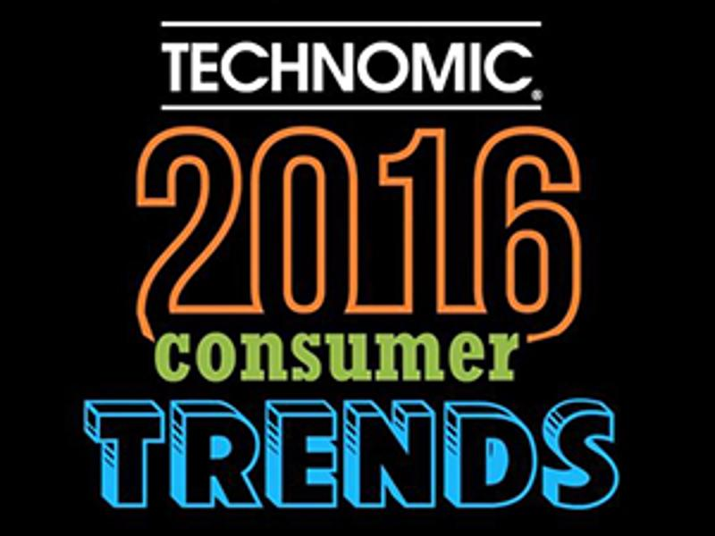 2016 Technomic consumer trends