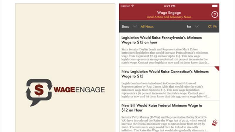 wage engage app