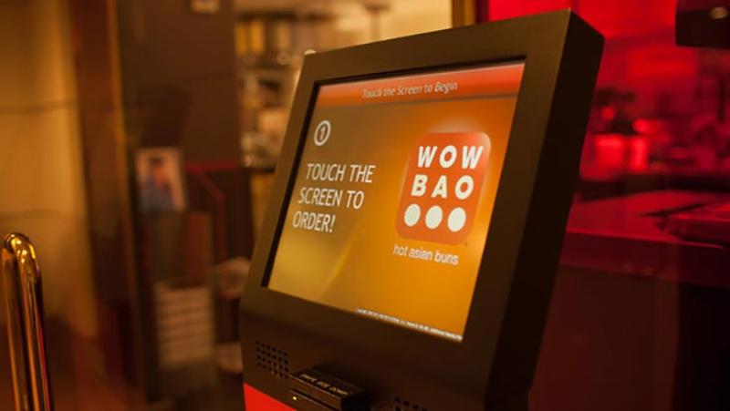 wow bao touch screen kiosk