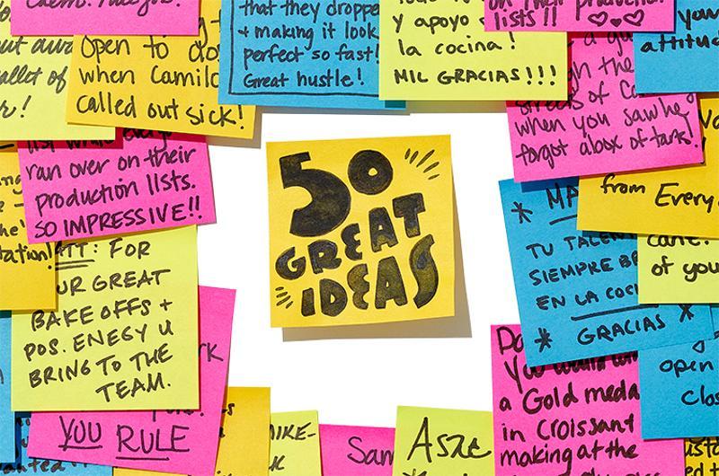 50 great ideas opener