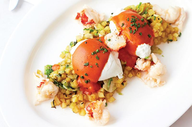 bottega louie lobster hash